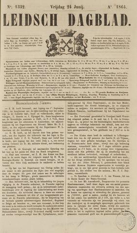 Leidsch Dagblad 1864-06-24