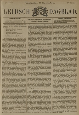 Leidsch Dagblad 1880-11-03