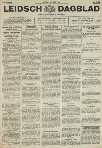 Leidsch Dagblad 1932-06-28