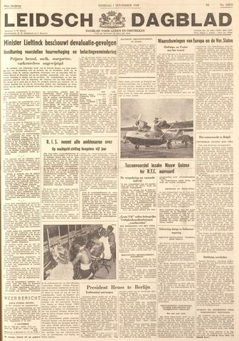 Leidsch Dagblad 1949-11-01