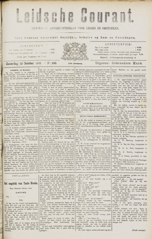 Leydse Courant 1889-10-12