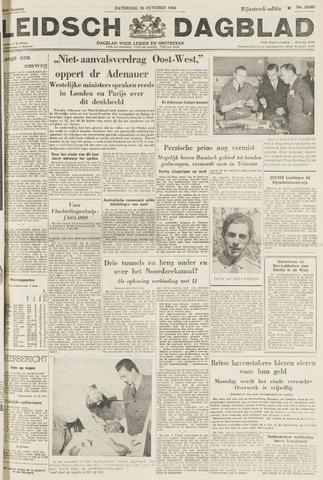 Leidsch Dagblad 1954-10-30