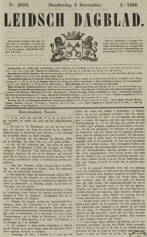 Leidsch Dagblad 1866-12-06