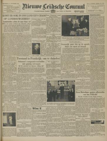 Nieuwe Leidsche Courant 1947-11-27