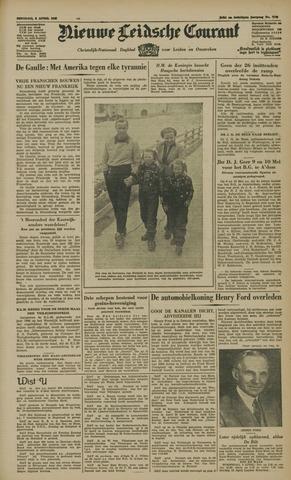 Nieuwe Leidsche Courant 1947-04-08