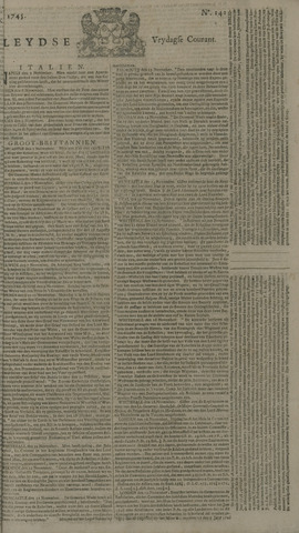 Leydse Courant 1745-11-26