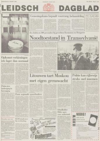 Leidsch Dagblad 1990-03-21