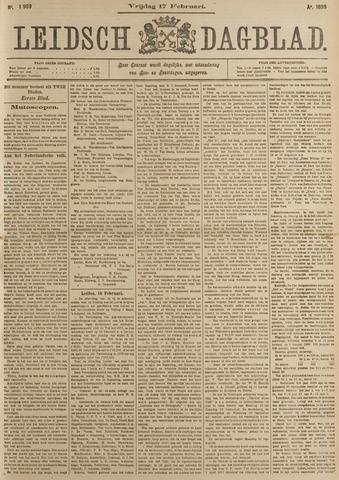 Leidsch Dagblad 1899-02-17
