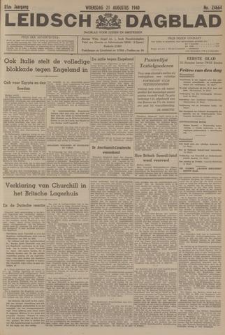 Leidsch Dagblad 1940-08-21