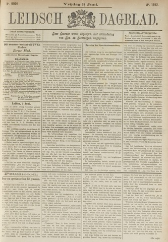 Leidsch Dagblad 1892-06-03