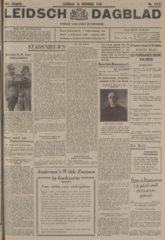 Leidsch Dagblad 1938-11-26