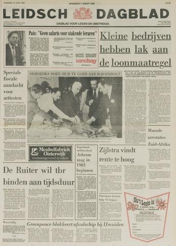 Leidsch Dagblad 1980-06-10