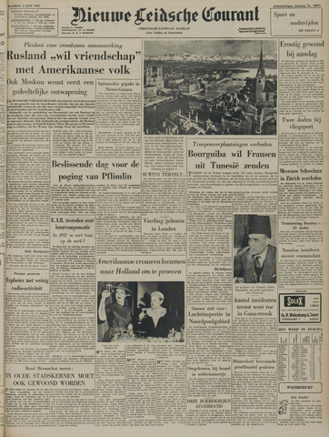 Nieuwe Leidsche Courant 1957-06-03