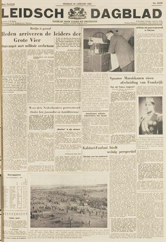 Leidsch Dagblad 1954-01-22