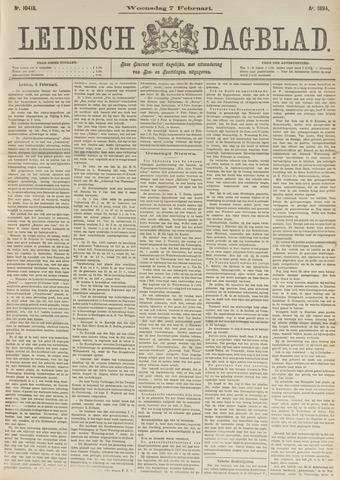 Leidsch Dagblad 1894-02-07