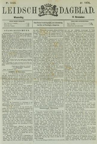Leidsch Dagblad 1876-11-15