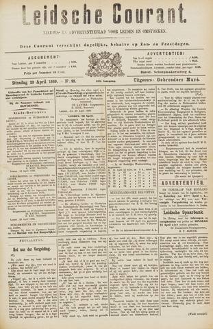 Leydse Courant 1889-04-22