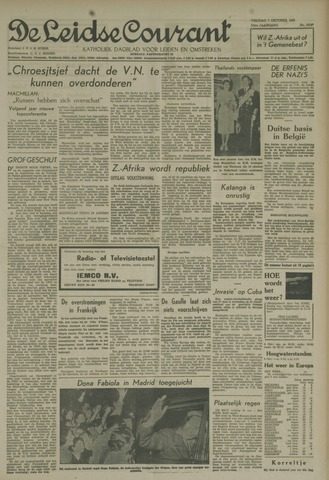 Leidse Courant 1960-10-07