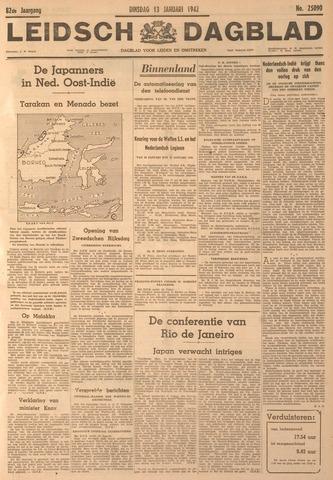Leidsch Dagblad 1942-01-13