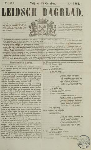 Leidsch Dagblad 1861-10-25