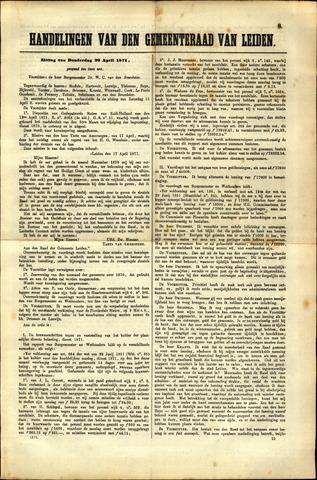Handelingen van de Raad 1871-04-20