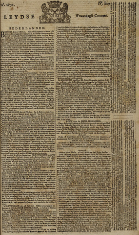 Leydse Courant 1751-10-27