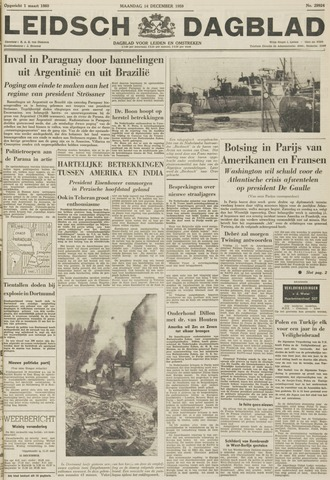 Leidsch Dagblad 1959-12-14