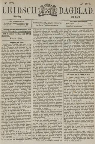 Leidsch Dagblad 1878-04-22