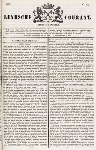 Leydse Courant 1869-10-09