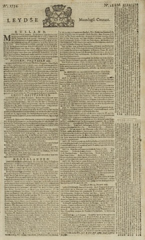Leydse Courant 1754-02-11