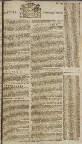 Leydse Courant 1772-10-28