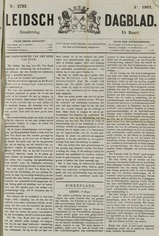 Leidsch Dagblad 1869-03-18