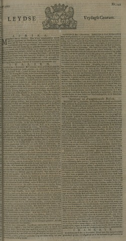 Leydse Courant 1722-11-27