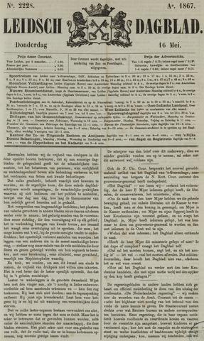 Leidsch Dagblad 1867-05-16
