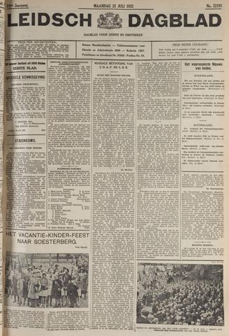 Leidsch Dagblad 1932-07-25