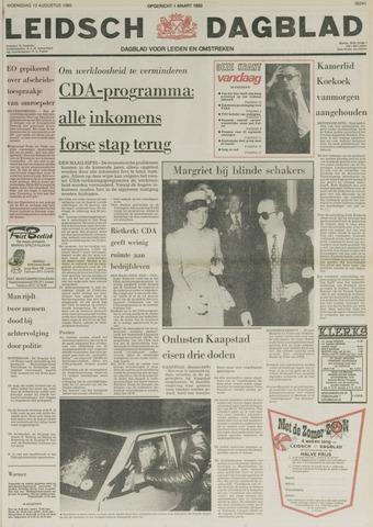 Leidsch Dagblad 1980-08-13