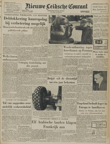 Nieuwe Leidsche Courant 1957-05-25