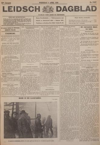 Leidsch Dagblad 1930-04-02