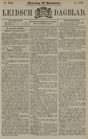 Leidsch Dagblad 1882-11-18