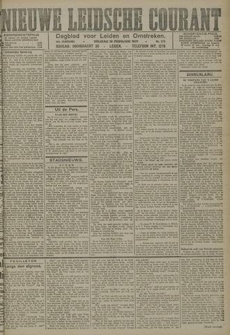 Nieuwe Leidsche Courant 1921-02-18