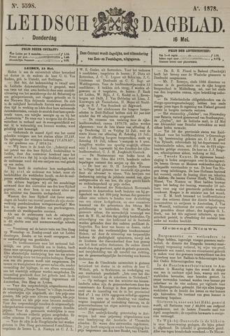 Leidsch Dagblad 1878-05-16