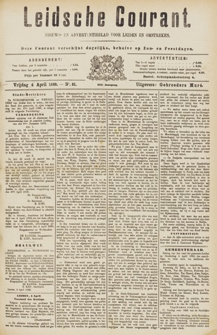 Leydse Courant 1889-04-05