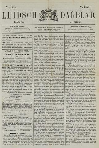 Leidsch Dagblad 1875-02-04