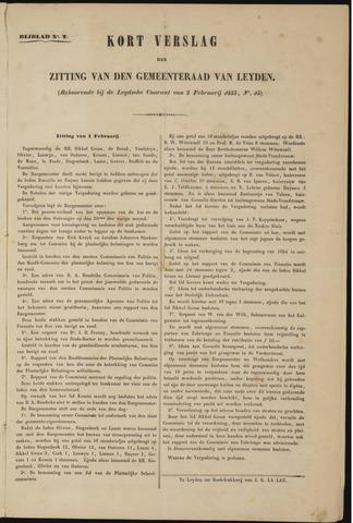 Handelingen van de Raad 1855-02-01