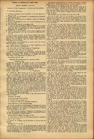 Handelingen van de Raad 1889-04-04