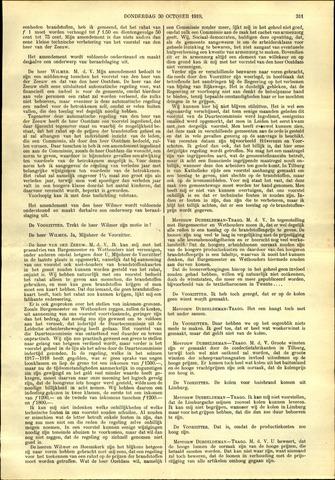 Handelingen van de Raad 1919-10-30