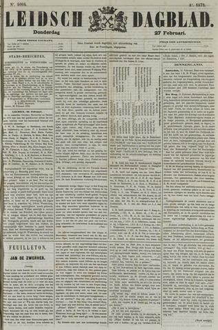 Leidsch Dagblad 1873-02-27