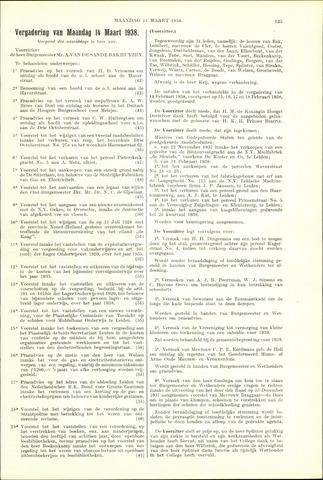 Handelingen van de Raad 1938-03-14