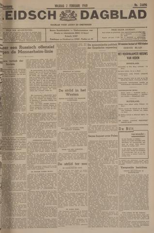 Leidsch Dagblad 1940-02-02