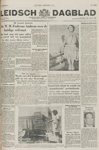 Leidsch Dagblad 1955-09-03
